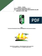 Hasil Munas 4 Bpl Hmi, Tjpinang 2016