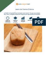 Pan Casero de Granos Enteros – Club Adelgaza Bien