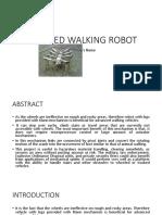 8 Legged Walking Robot