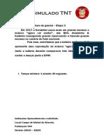 20 - Tá Cheio de Gambá – Etapa 3