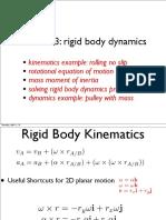 3334444 Lecture3 Jen RigidBodies