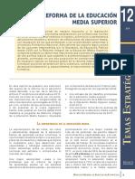La Reforma de La Educación Media Superior