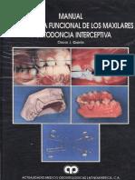 Manual de Ortopedia Funcional de Los Maxilares Y Ortodoncia Interceptiva