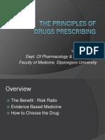 1. the Principles of Drugs Prescribing & Drug Interaction