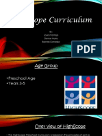 highscope curriculum pdf