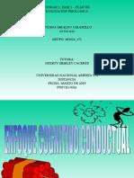 Enfoque Cognitivo Conductual Biviana Giraldo Jaramillo
