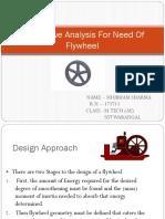 Analysis of Flywheel