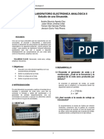Informe Lab Analógica II
