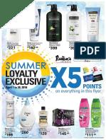 Rustan's Supermarket Summer Loyalty Exclusives