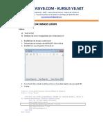 Mengatasi Database Login Laporan Vb Net