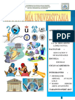 Autonomia Universitaria Cultura