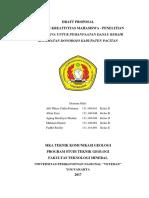 Draft Proposal Pkm