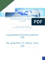 DIEEEINV01-2018 Geopolitica Bases Militares IX MarioJGallegoCosme