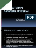 Farmakoterapi Gangguan Hormonal 1