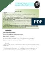 Activité _Découverte Du Conditionnel_ (A2) (Pierre)