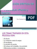 anlisiscrticodelapelculapuntoyaparte-130609205451-phpapp02
