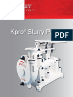 Slurry Pump the Kpro