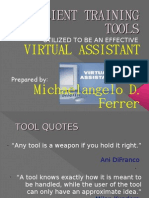 Client Training Tools - Ferrer, Michaelangelo d.