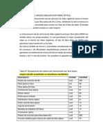 TDR Fibra Optica
