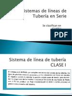 Sistemas de Líneas de Tubería en Serie