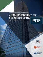 Brochure Analisis y Diseño en Concreto Estructural Con El Aci 318 14