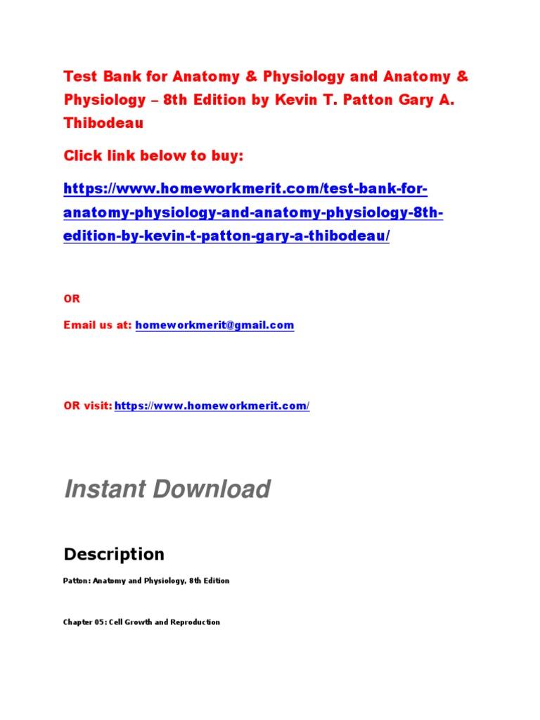 Atractivo Thibodeau Anatomy And Physiology Friso - Imágenes de ...