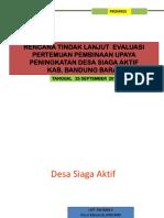 Rtl Evaluasi Desi Model