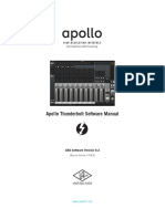 Apollo Software Manual TB v92