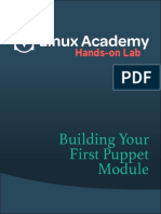 Building Your First Puppet Module