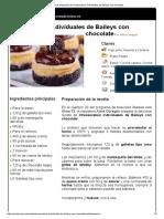 Hoja de impresión de Cheesecakes individuales de Baileys con chocolate.pdf