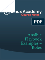 Ansible Playbook Roles
