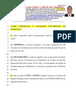 Cómo Apostillar y Legalizar-Vzla-020616