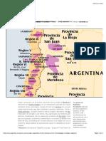 Ruta del vino, de Mendoza a Valparaíso