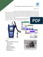 Base of Precise Diagnosis by Vibration Analyzer VA-12 (110719)