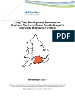 Southern Electric Power Distribution Long Term Development Statement Parts 1 and 2(1)