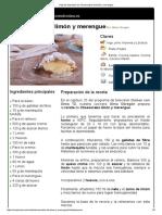 Hoja de Impresión de Cheesecake de Limón y Merengue