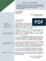 PE - Lettre de Protestation - DeLF B2