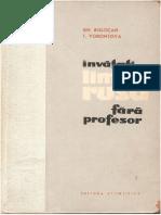 Învățați Limba Rusă fără Profesor - Gh. Bolocan 1962