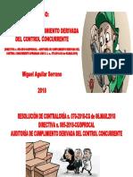 Curso Auditoría de Cumplimiento Derivada Del Control Concurrente ABR.2018 - Dr. Miguel Aguilar Serrano