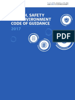 DCCA HSE Code of Guidance