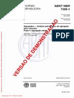 Agregados - Análise Petrográfica de Agregado Para Concreto - Parte 1 - Agregado Miúdo