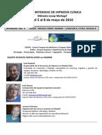 Programa Curso Intensivo Hipnosis Madrid 2016(1)