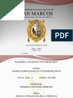Ensayo Pedagogadelaternura 160705122949