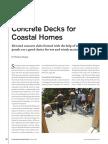 Professional Deck Builder Article PDF_ Concrete Decks for Coastal Homes