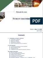 Cours Fours Et Chaudières_Labsi 2018 - Etudiants