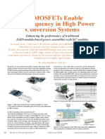 MosfetSIC , Trad Enable High Frequency in High Power Conversion Systems