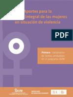 AportesProgramaAtencióna las MujeresVictimasdeViolencia
