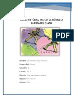 Guerra Del Chaco bolivia