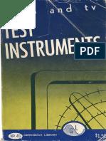 Instrumentos de Prueba de Radio y Televisión,
