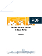 LS Data Director Release Notes 2017